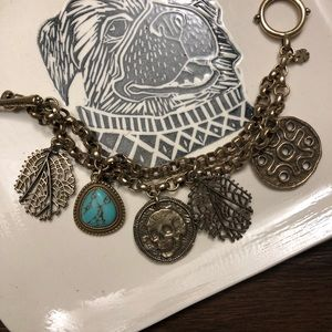 Lucky Brand Charm Dangle Braclet